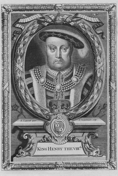 Henry VIII, Katherine's second husband.